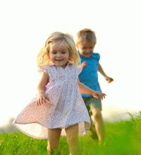 Дети с крепким иммунитетом
